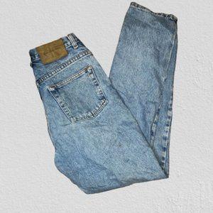 Vintage 1990s Calvin Klein Mom Jeans Size 4